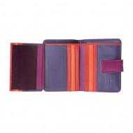Portafoglio donna piccolo di pelle colorata porta carte DUDU