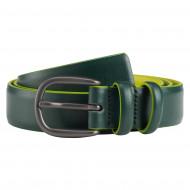 DUDU Cintura Donna Morbida Colorata in Vera Pelle Made in Italy Fashion alla Moda con Fibbia ad Ardiglione H25mm Elegante