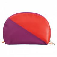DUDU Pochette Porta Trucchi Make Up in Pelle Da Viaggio Da Borsa con Cerniera Multicolore