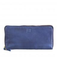 DUDU Portafoglio Donna con Cerniera Zip Around Grande Pelle Vintage Borsello Multi Tasche Portamonete