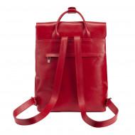 DUDU Zaino Donna Pelle Elegante Artigianale Made in Italy Casual con Manici e Patta Zainetto Porta Tablet