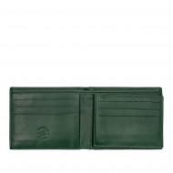 Nuvola Pelle Portafoglio Uomo Piccolo in Vera Pelle Compatto Sottile Slim Porta Carte e Banconote