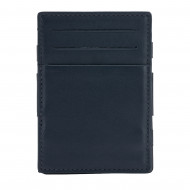Nuvola Pelle Portafoglio Magico Uomo in Pelle Magic Wallet Piccolo con 6 Tasche Porta Carte di Credito