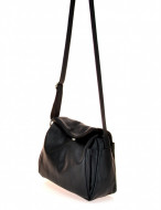 BORSA DONNA A TRACOLLA IN PELLE MONTINI FLORA GRAINY MADE IN ITALY