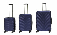 SET TROLLEY RIGIDO 4 RUOTE RAVIZZONI LINEA DIAMANTE