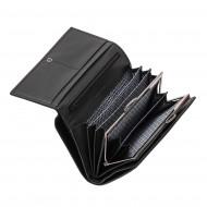 Nuvola Pelle Portafoglio Donna Grande Capacità in Vera Pelle Multitasche con Portamonete Porta Carte di Credito