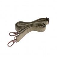 Tracolla per borsa in pelle tinta in capo regolabile 146 cm DUDU
