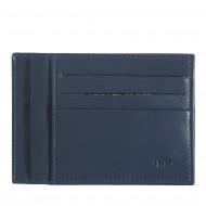 Nuvola Pelle Porta Carte di Credito Uomo Ultra Slim 0,5 mm in Vera Pelle Nappa Portadocumenti e 6 Slot Porta Tessere