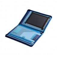 Cartella portadocumenti in pelle multicolore porta iPad di DUDU