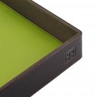 DUDU Svuotatasche in Pelle Colorato di Design da Ingresso Porta Oggetti con Scatola Regalo