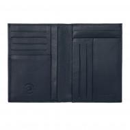 Nuvola Pelle Portafoglio Uomo in Pelle Sottile Slim formato Verticale Porta Carte Documenti Tessere Banconote