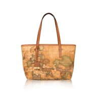 BORSA DONNA SHOPPING MEDIA A SPALLA ALVIERO MARTINI PRIMA CLASSE