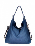 BORSA DONNA IN PELLE CONVERTIBILE IN ZAINO MONTINI FARAH MADE IN ITALY