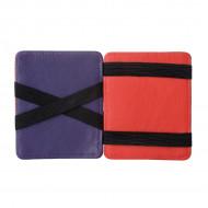DUDU Portafoglio Magico uomo in Pelle Nappa Magic Wallet colorato Multicolor con 6 tasche Porta Carte di credito
