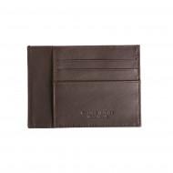 DV Porta carte di credito uomo Ultra Slim 0,5 mm in Vera Pelle Nappa Portadocumenti e 6 slot porta tessere