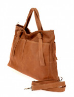 BORSA DONNA SHOPPING IN PELLE MONTINI GAIA MADE IN ITALY