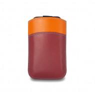 Custodia iPhone SE/5S/5/4S/4 in pelle multicolore con Pull Up di DUDU