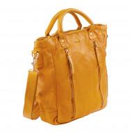 DUDU Borsa Grande Donna a Tracolla a Mano Vintage in Pelle Shopper Alta Capacità con Cerniera Zip