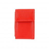 DV Mini portafoglio uomo in Pelle Nappa Piccolo da Taschino con Portamonete e Porta banconote