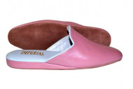 ESCLUSIVE PANTOFOLE DONNA IN PELLE IMPERIAL MADE IN ITALY