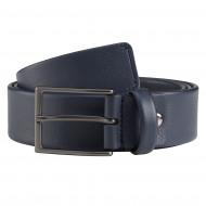 Nuvola Pelle Cintura Uomo in Pelle Made in Italy con Fibbia ad Ardiglione Larghezza 3,5mm Elegante