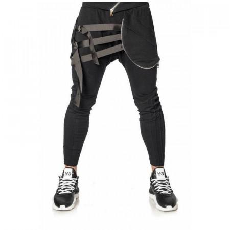 Pantaloni Leather Stripe Mexton Men