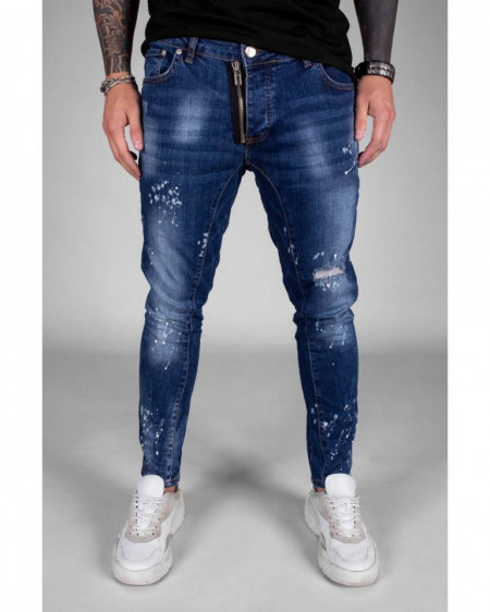 Blugi Skinny fit Matthew Blue ink