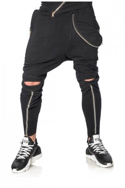 Pantaloni Sharp Black Mexton Men