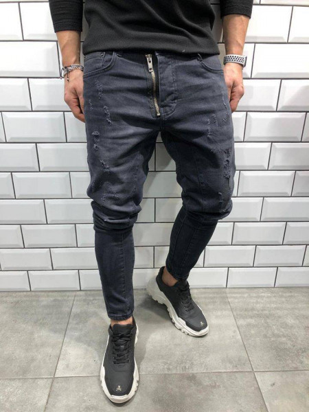 Blugi Skinny fit Matthew black