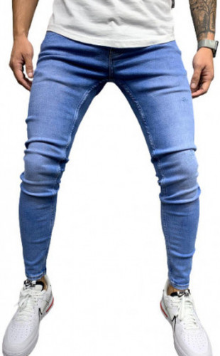 Blugi slim fit cod B5488-1