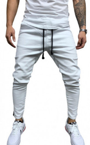 BLUGI SLIM FIT STRIPED WHITE COD B5541-1