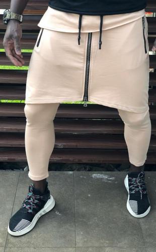 Pantaloni Trening crem