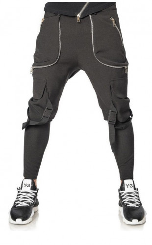 Pantaloni Black Jet Mexton Men