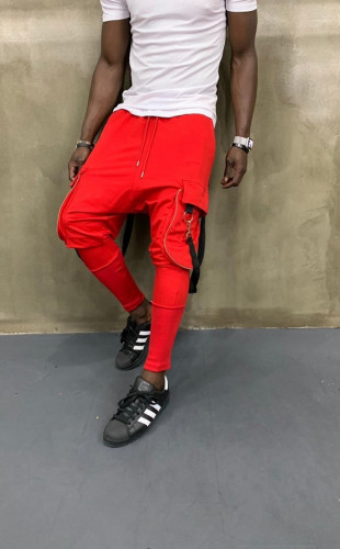 Pantaloni Trening Semi Tur Red