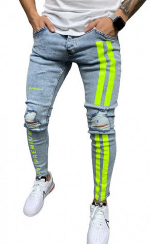 BLUGI SLIM FIT RUPTI STRIPED COD B5483