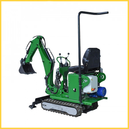 Mini excavator Electric Plug In 72 CM