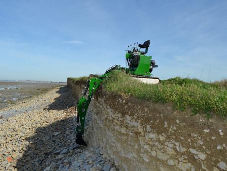 Mini excavator Sphinx MPT 82 1500 P