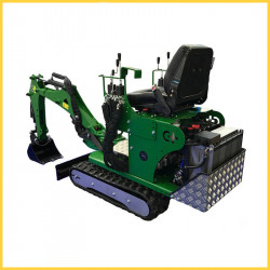 Mini excavator Electric cu baterie 72 CM