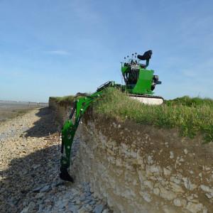 Mini excavator Sphinx MPT 82 1500 P+