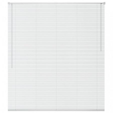 jaluzele orizontale pvc/alb L 40 cm x H 120 cm (SEMI-OPAC)