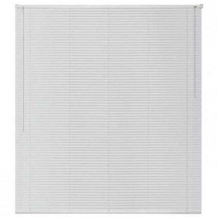 jaluzele orizontale pvc/alb L 50 cm x H 160 cm (SEMI-OPAC)