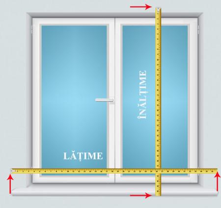 Jaluzele verticale standard L 140 X H 160 cm v76