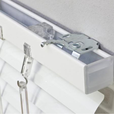 jaluzele orizontale aluminiu alb L 100 cm x H 110 cm