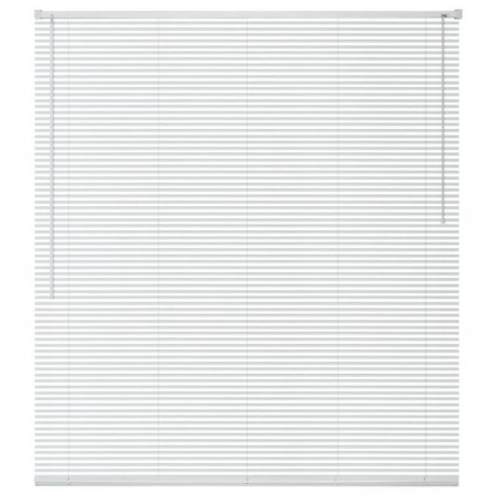 jaluzele orizontale pvc/alb L 40 cm x H 100 cm