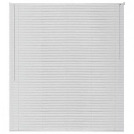 jaluzele orizontale pvc/alb L 40 cm x H 110 cm