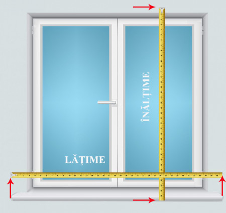 Jaluzele verticale eden m2