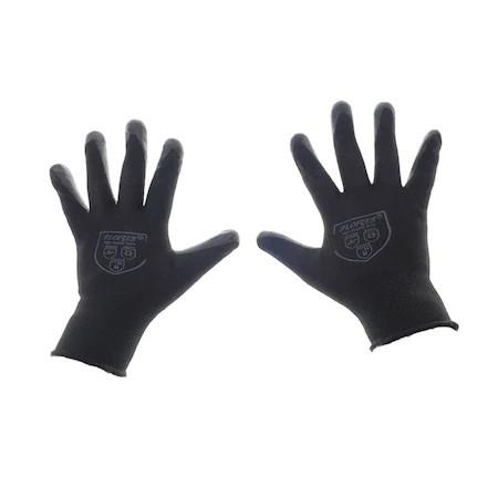 Manusi de protectie universale Flores FS-12642 , material textil si PVC , negre