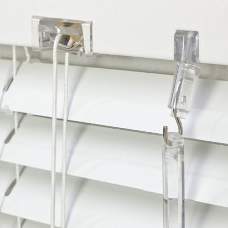 jaluzele orizontale aluminiu alb L 100 cm x H 140 cm