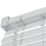 jaluzele orizontale pvc/alb 60 cm x 155cm