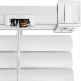 jaluzele orizontale pvc/alb 90 cm x 155cm